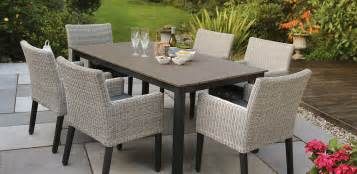Large Outdoor Dining Table Set