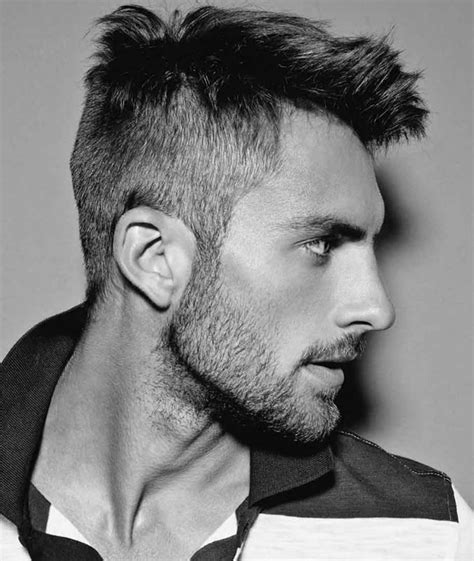 Faux Hawk Hairstyle by Barber Approved Faux Hawk Hairstyles For Fashionbeans