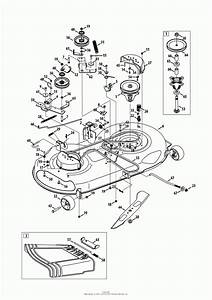 Craftsman Riding Lawn Mower Deck Parts