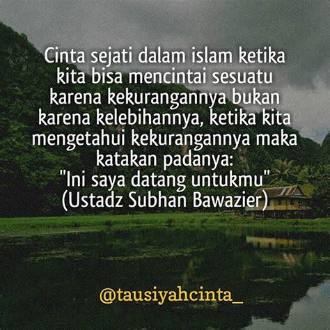 quotes tentang cinta  islam kata kata mutiara