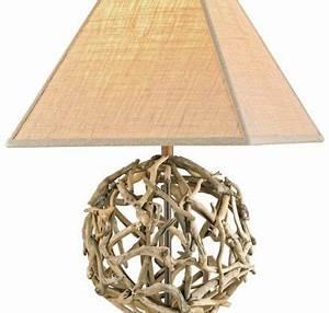 Lampe Chevet Bois Flotté : lampe en bois flott fabriquer vous m me beaucoup d 39 id es en photos ~ Melissatoandfro.com Idées de Décoration