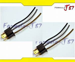 Wire Pigtail Male 9003 Hb2 H4 Hs1 Two Harness Wiring