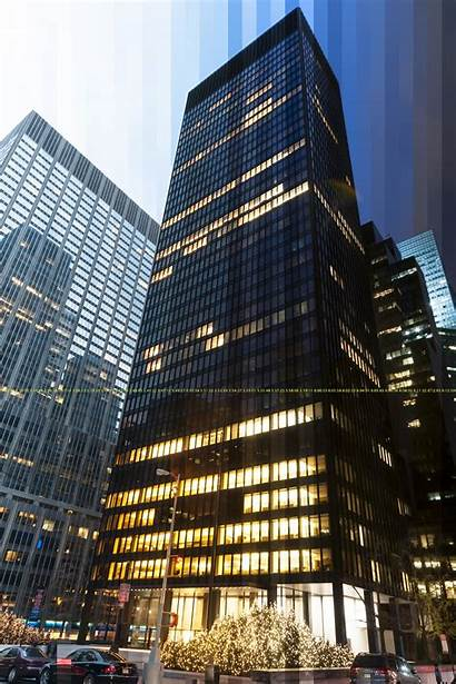 Seagram Building York Architecture Ny Elevation Plan