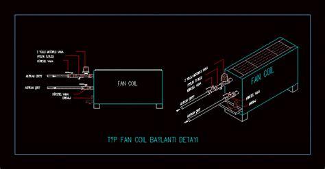 fan coil  autocad  cad   kb