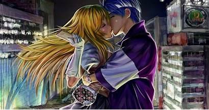 Anime Demon Lirik Slayer Kamado Tanjirou Kiss