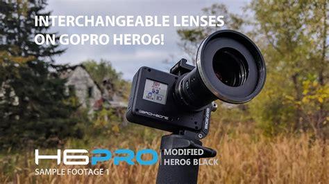 interchangeable lenses gopro hero youtube