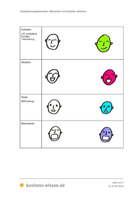 menschen und gefuehle zeichnen vorlage business wissende