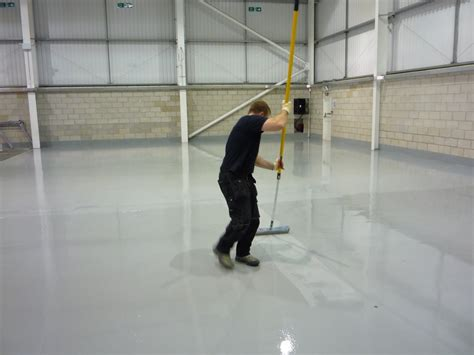 Epoxy Flooring Installers by Recreational Coatings Ltd Epoxy Flooring Installation