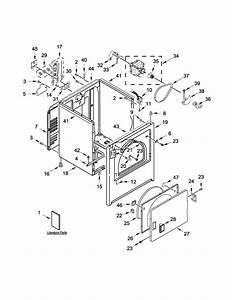 Maytag Model Medc555dw1 Residential Dryer Genuine Parts