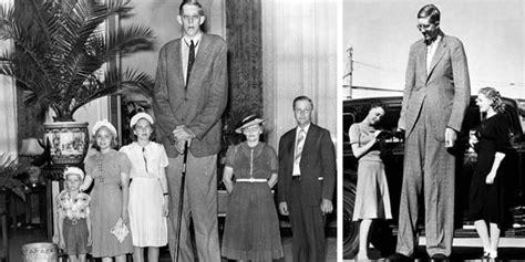 tallest man  history robert wadlow ft