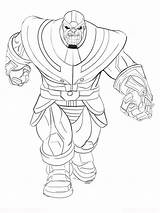 Thanos Coloring Pages Boys Printable Mycoloring Print Colors sketch template