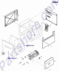 Rg5-2170-000cn Hp 2000 Sheet Paper Tray Pap