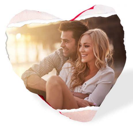 cuscino cuore crea cuscini personalizzati con foto a forma di cuore su