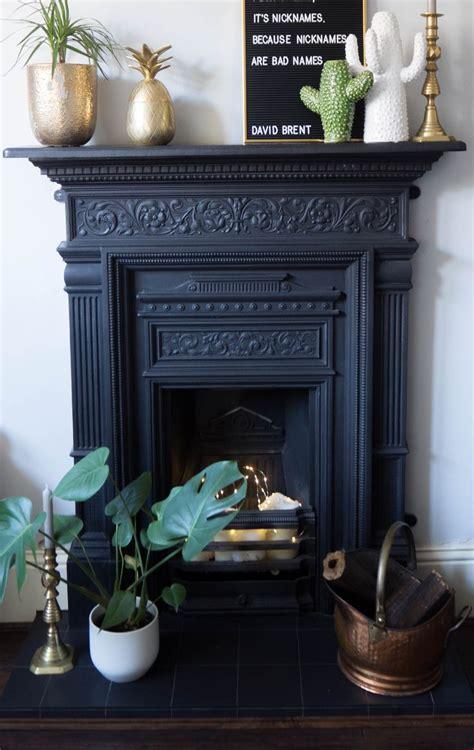 cast iron fireplace ideas  pinterest