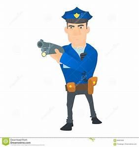 Cartoon Policeman With Gun   www.imgkid.com - The Image ...