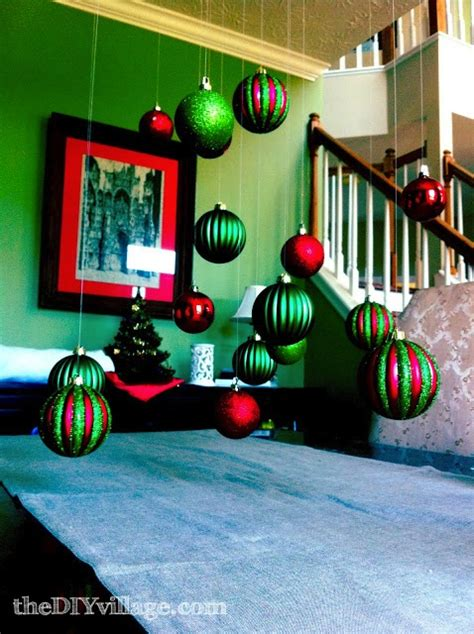 dining room christmas decor  diy village