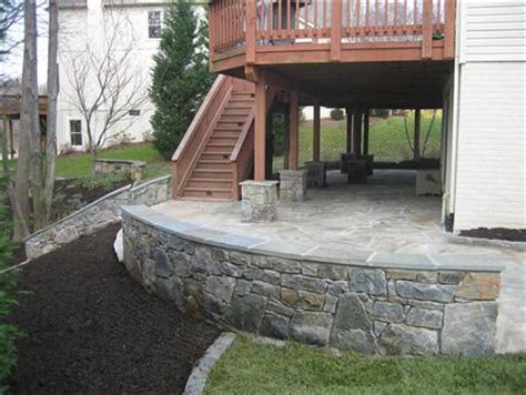 Irregularflagstonepatiounderdeck  Four Seasons. Covered Patio Mobile Home. Slate For Patio. Patio Remodeling Phoenix. Patio Furniture Cushions Sale. Enclosed Patio Pics. Brick Patio Vs Pavers. Patio Table Umbrella Amazon. Porch And Patio Paint