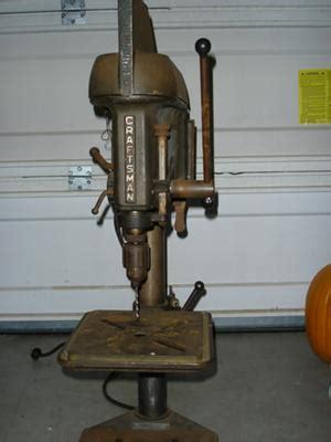 vintage craftsman bench top drill press