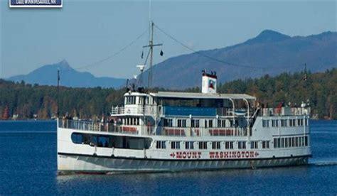 Mt Washington Boat by Laconia Attractions Scenic Railroad Rides Lake Cruises