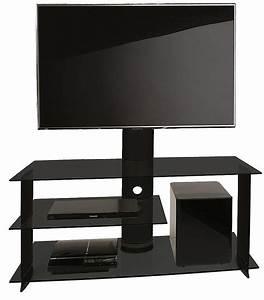 Tv Rack Glas Mit Rollen : vcm tv meubel bulmo zwart ~ Bigdaddyawards.com Haus und Dekorationen
