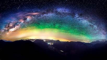 Mountain Night Space Stars Wallpapers Px 1080p