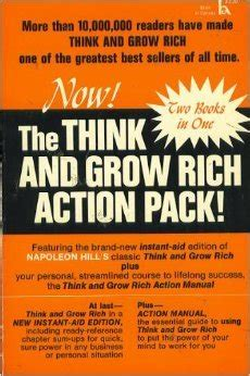 grow rich action pack  napoleon hill