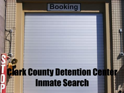 Clark County Nv Inmate Search