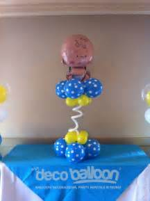 Baby Shower Balloon Decorations Centerpieces