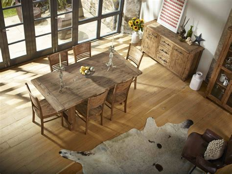 Cheap Kitchen Table Sets Canada by Country Reclaimed Solid Wood Farmhouse Dining Table