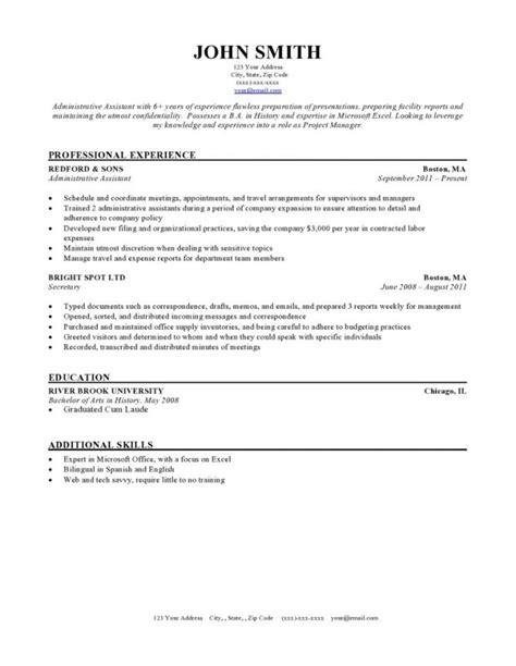 resume blank sle 2017 best professional resumes