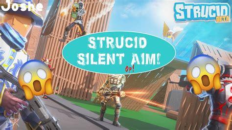 strucid op silent aim shot  walls youtube