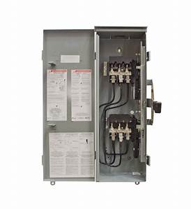 Winco Square D Manual Transfer Switch