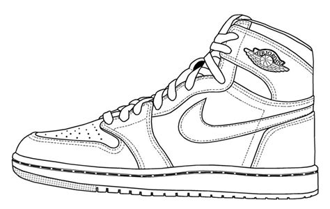 basketball shoe coloring pages  coloring pages