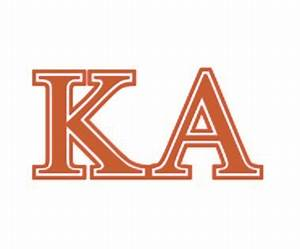 kappa alpha order and pi kappa alpha coming to tech the With kappa alpha letters