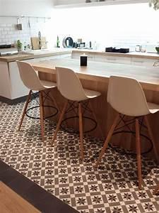 Carrelage Plan De Travail : cuisine plan de travail sur mesure maison pinterest ~ Premium-room.com Idées de Décoration