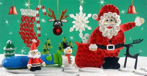 awesome christmas quilling ideas quill