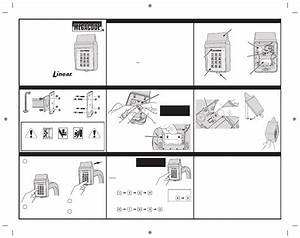 Linear Mdkp   Exterior Wireless Keypad Quick Start Manual