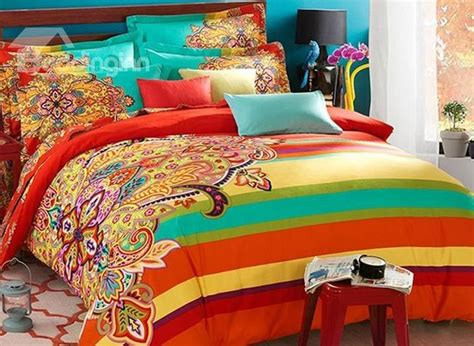 funky bright colored bedding stop searching   minute