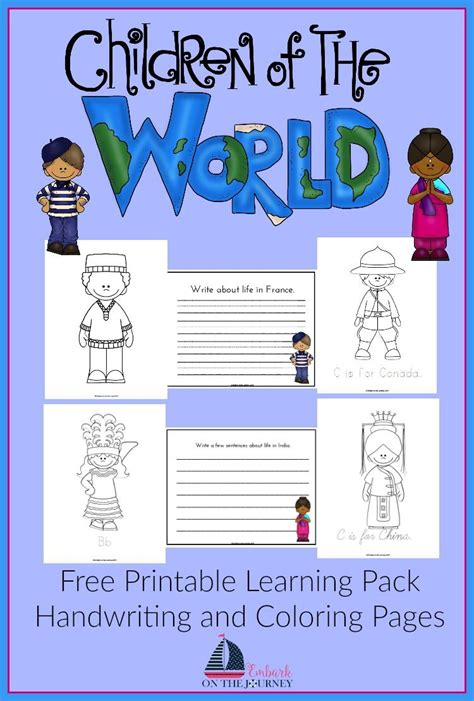 culture lesson plans for preschool children around the world writing pack embark on the 933