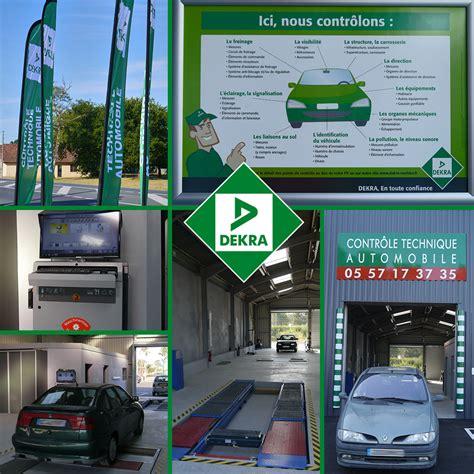 bureau de controle dekra dekra centre de controle technique automobile controle