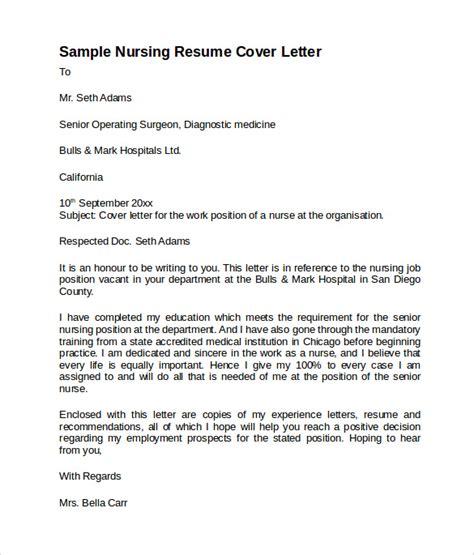 sle nursing cover letter template 8 free