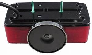 Split Lens Magnetic Towing Tail Lights Custer Tow Bar