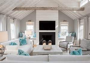 20, Beautiful, Beach, House, Living, Rooms