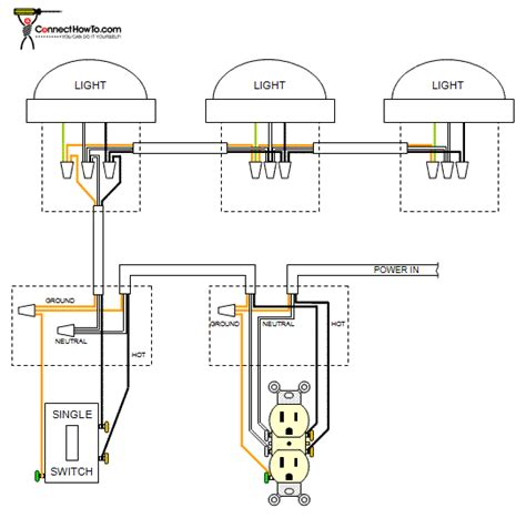 Receptacle Wiring Diagram For Bedroom by Electric Work Switched Single Outlet Afci