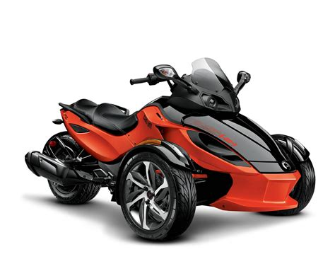 High-performance Sport 3-wheeled Motorcycles