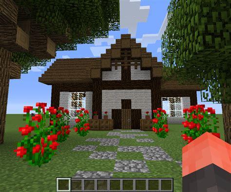 minecraft cottage  steps instructables