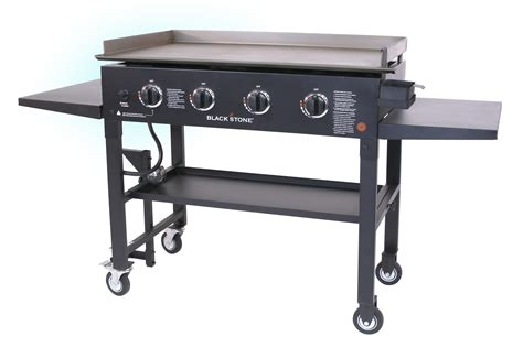 gas stove tops with griddle gas grill flat top griddle 4 burner cooktop portable bbq cooking propane gas new ebay