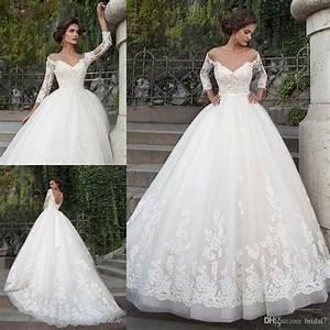 2017 ivory elegant wedding dresses with appliques sheer With elegant wedding dresses 2017