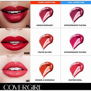 Covergirl Outlast Lipstick Colour Chart | The Art Of Beauty