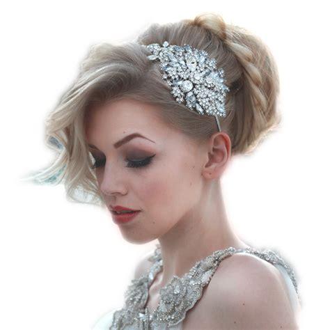 Lulu side headpiece - Rocks for Frocks